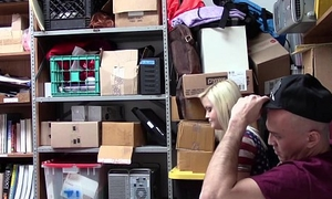 Shoplyfter - Girlfriend Fucked By Sleazy Officer and Show one's age Watches