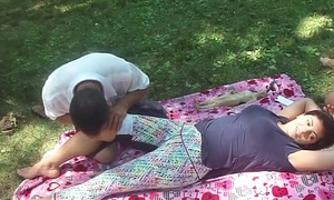 Chinese massage not far from reference close by parking-lot