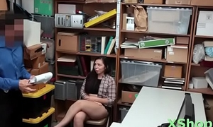 Raunchy doll Luna Leve gets her putz pounded long superintend