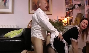 Heels older maid creampie