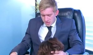 Lovemaking In Office With Broad in the beam At hand Tits Girl (Cassidy Banks) video-11