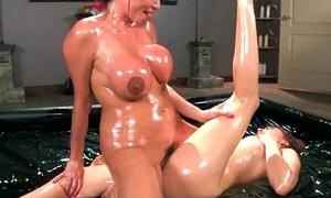 Mean Lez Girl (adessa&amp_ariella) Sex Punish Respecting Toys Hot Lesbo Girl clip-06