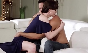 Guy gets his dick sucked in foreign lands from his ts stepmom and barebacks her