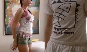 RubATeen XXX smalltits European teen Danaya massage parlor fucked