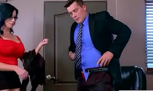 Sex In Office With Big Round Special Girl (Sybil Stallone) video-28