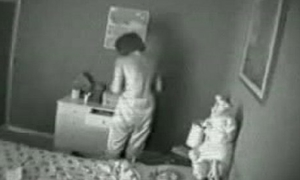Hidden cam. My old woman masturbating greater than flowerbed