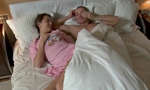 Sluts is fortified with a vibrator greater than her pussy,some fucking later facial cumshot