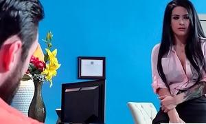 Busty Slut Office Girl (Katrina Jade) Have a crush on Hardcore Coitus video-15