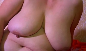 OmaHotel Two age-old BBW grannies masturbate pussy