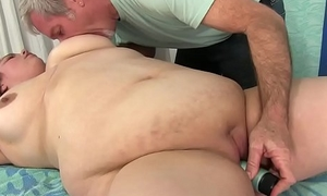 Sexy Fat Girl Baby Rose Gets Their way Body, Twat and Ass Massaged