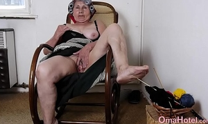 OmaHoteL Amateur Granny Pictures Slideshow Videotape