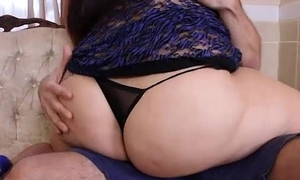 Chubby Contraband Stripper Fucks Young Stud