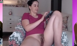 Mom hairy pussy listen in cam