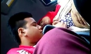 malay unspecified caressed with an increment of tits sucked