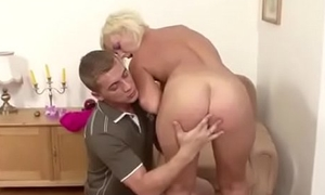 Young Boy Seduce Puristic Step-Mom to Get First Fuck