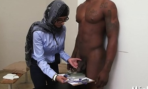 Cock-jerking performed take arab style