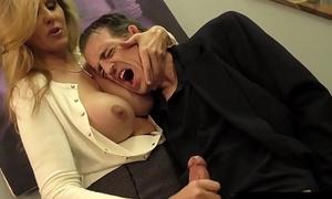 Busty Mart Milf Julia Ann Milks Cum From Rock Hard Dick!