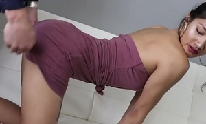 Teen Asian Girl Loves Some Older Cock For Money