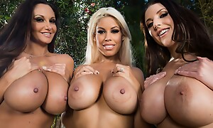 Best Of Brazzers: Titty Tuesday Free Video With Bridgette B & Ava Addams & Marc Rose & Dillion Harper & Lena Paul & Angela White - Brazzers
