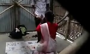 indian teacher fucked hard by student open-air