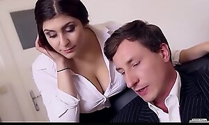BUMS BUERO - Curvy German vixen pounded stay away from out of one's mind her VIP