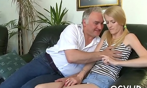 Young sweetie screwed by old dearest