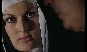 Horny nun wants a changeless cock concerning her immoral ass